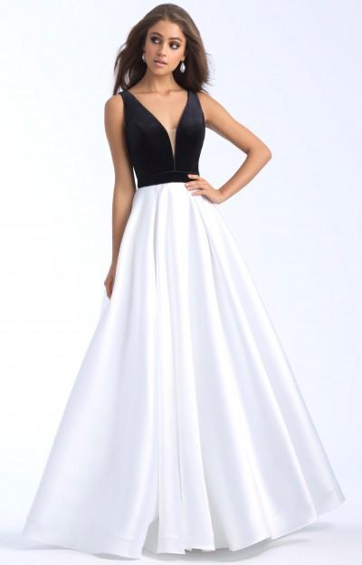Black and White Formal Dresses