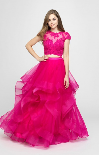 Pink Prom Dresses Sexy Formal Homecoming Plus Size