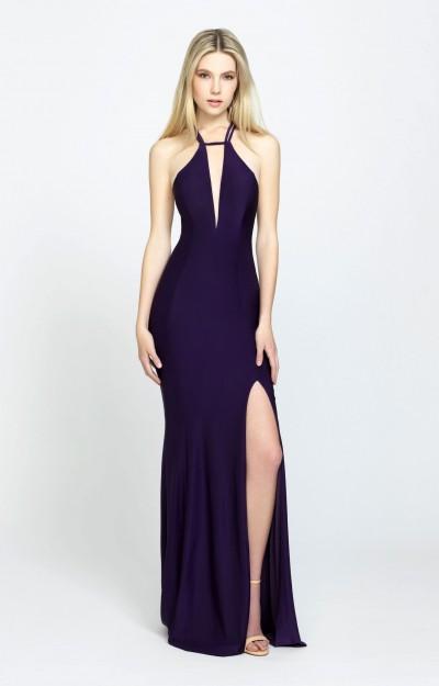 Purple Prom Dresses Lavender Lace Purple Gowns