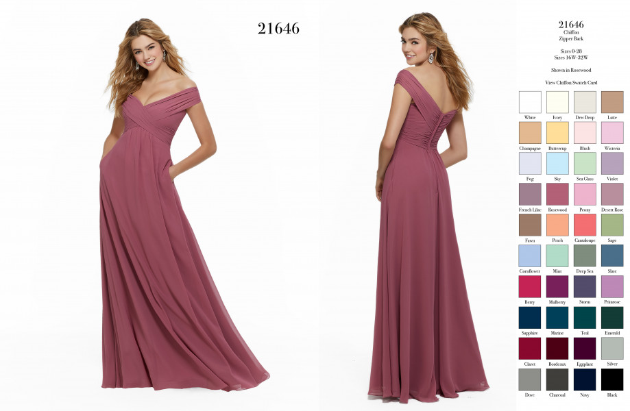 Mori Lee Bridesmaid 21646  picture 2