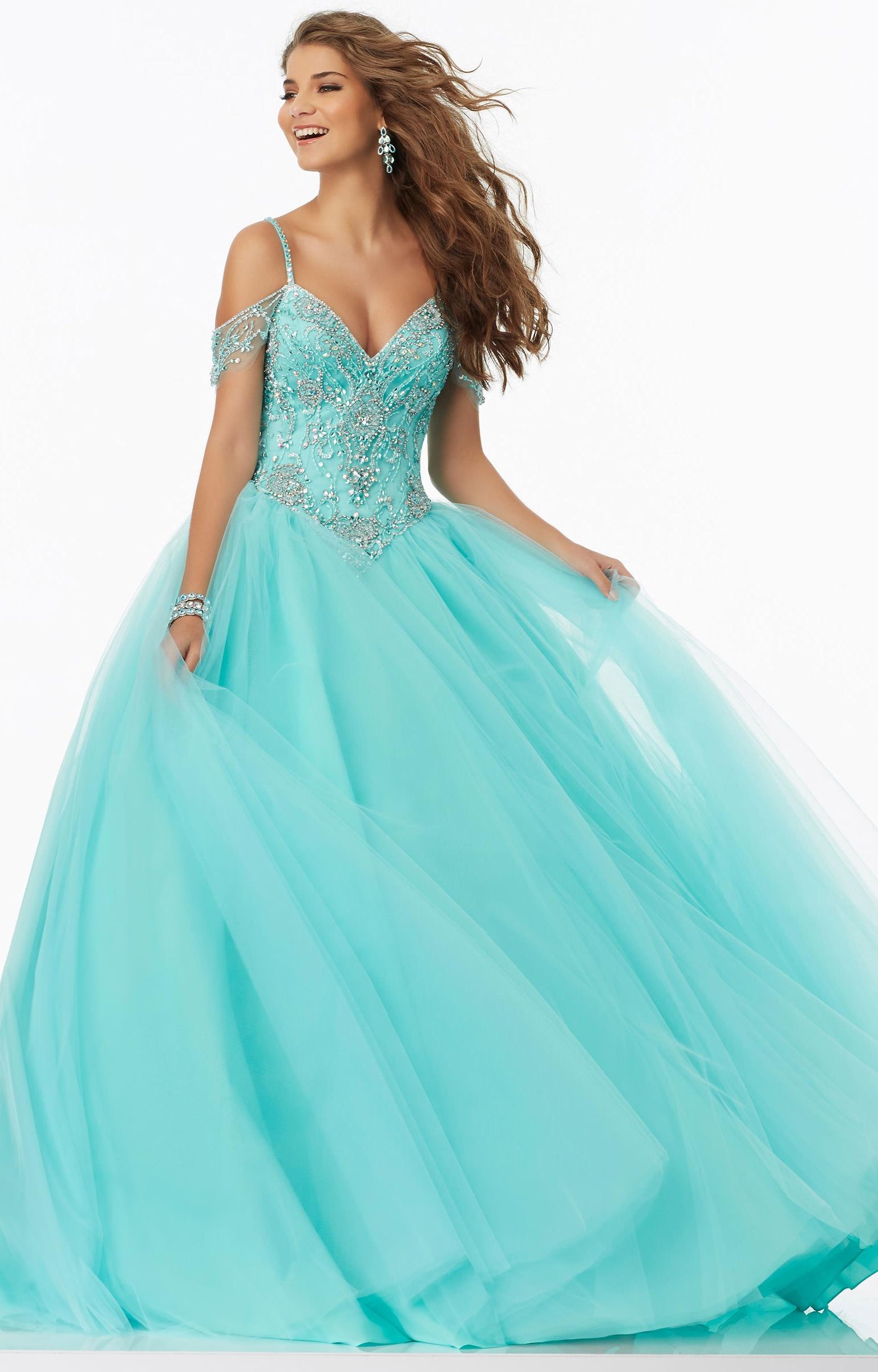 Mori Lee Prom 99040 - Formal Evening Prom Dress