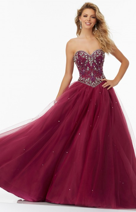 Mori Lee Prom 99154 - Formal Evening Prom Dress