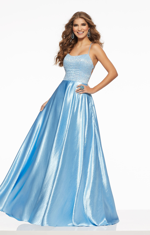262b1cad97c Morilee Prom 43012 - Sweet A-Line Satin Dress