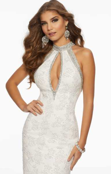 Mori Lee Prom 43068 Halter and High Neck picture 1