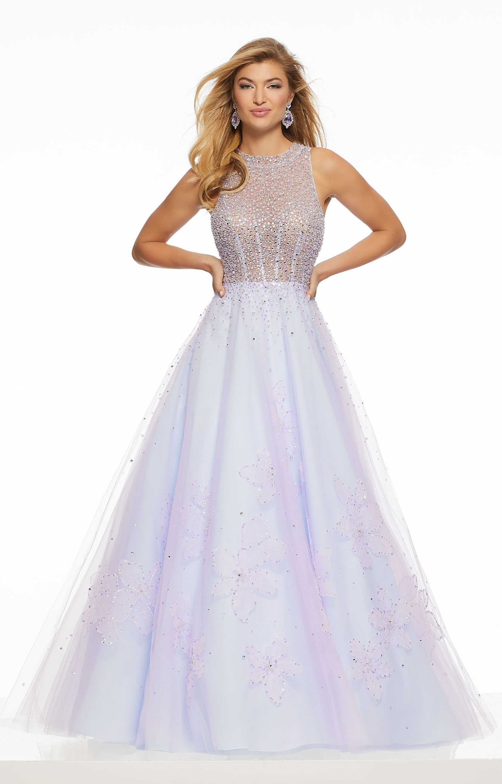 3458da9ad9 Morilee Prom 43079 - Simply Sweet A-Line Tulle Dress