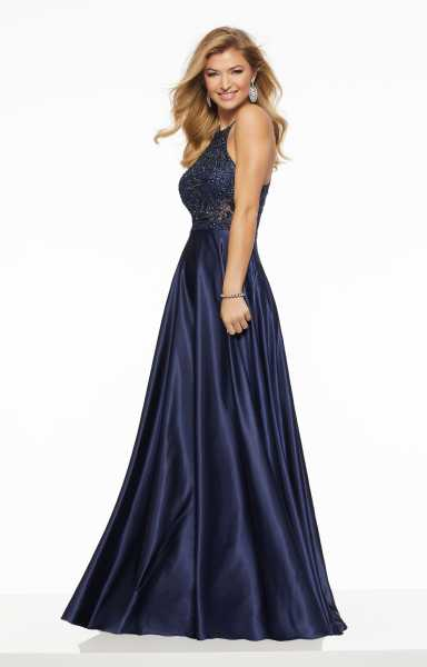 Mori Lee Prom 43090 High Neck picture 1