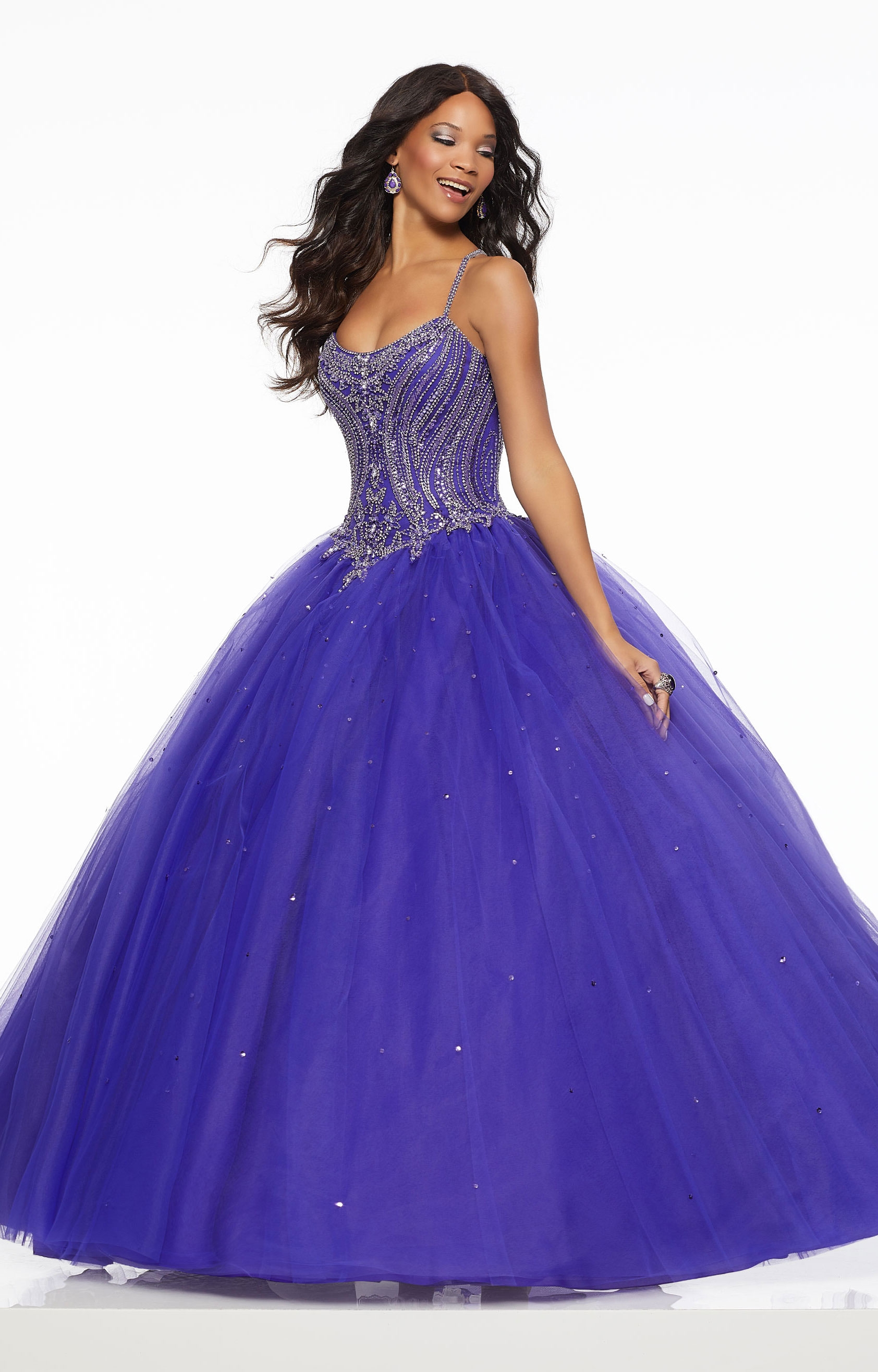 Tulle Ball Gown Prom