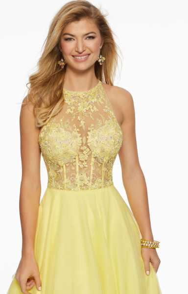 Morilee Prom 43018 High Neck picture 1