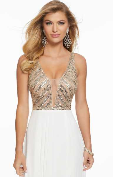 Mori Lee Prom 43067 V-Shape picture 1