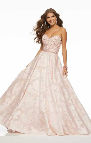 Morilee Prom 43083 Strapless and Sweetheart picture 1