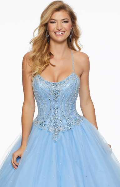 Mori Lee Prom 43096 Has Straps picture 1