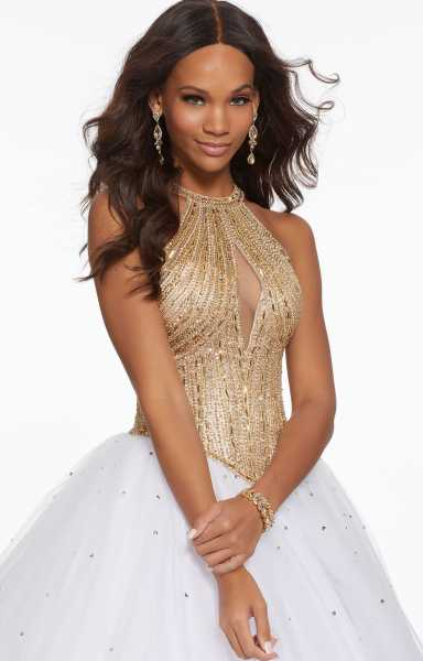 Morilee Prom 43111 High Neck picture 1