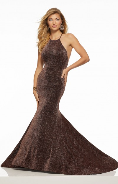 3ad59154a9e Morilee Prom 43137 · Morilee Prom 43137. Show Stopper Metallic Jersey  Mermaid Gown $398.00