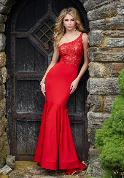 Morilee Prom 45027 One Shoulder picture 1