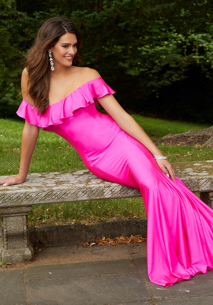 Morilee Prom 45046 Off The Shoulder picture 1