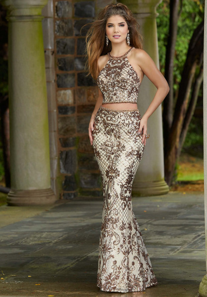 Morilee Prom 45038 High Neck picture 1