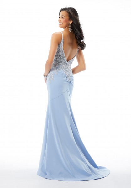 Morilee Prom 46026 Has Straps and V-Shape picture 1