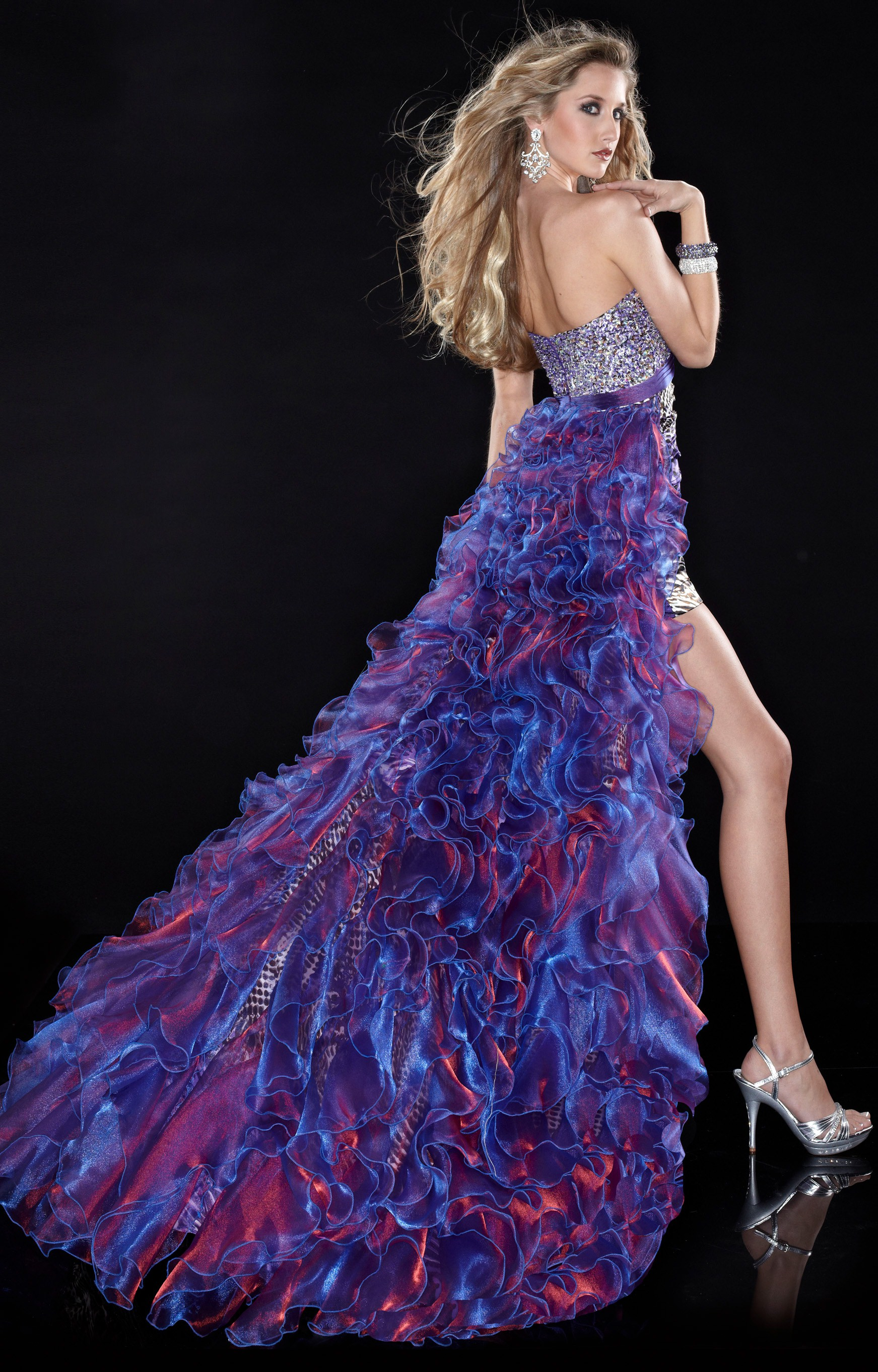 Panoply 14419 - Embrace You Wild Side Prom Dress