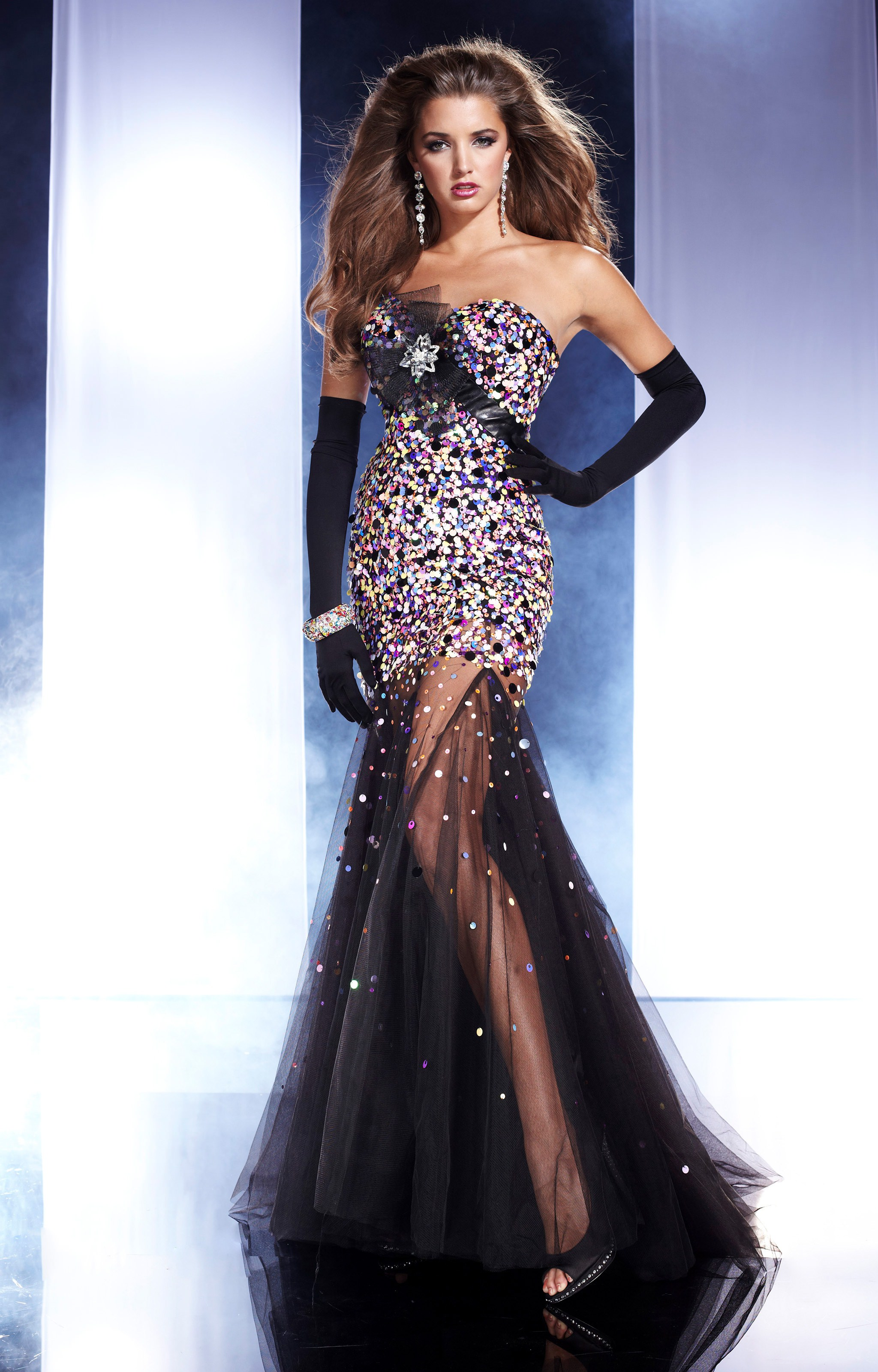 Panoply 14464 Shine All Night Prom Dress