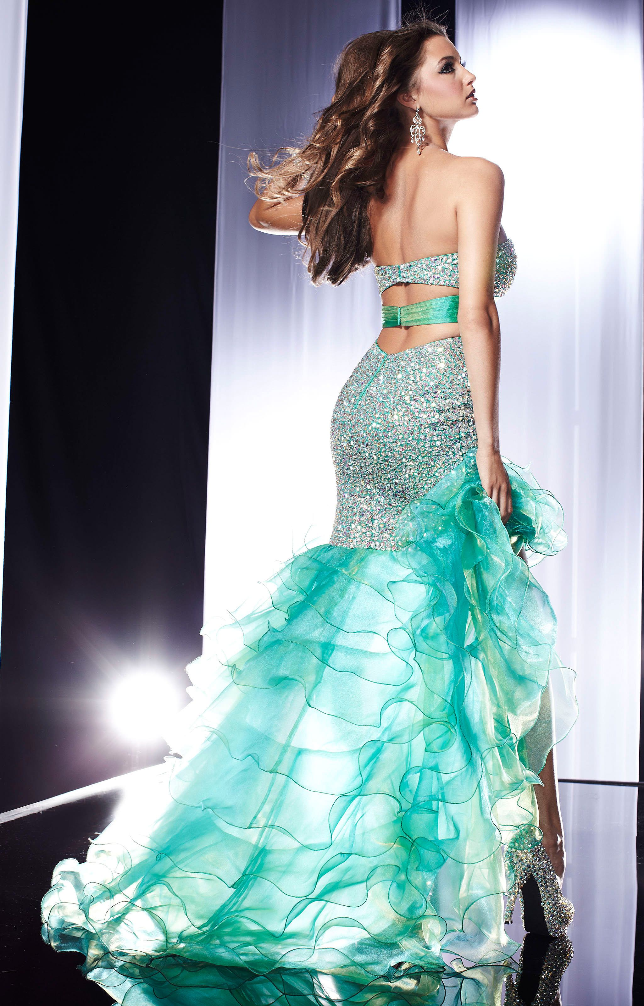 Panoply 14561 Green With Envy Gown Prom Dress