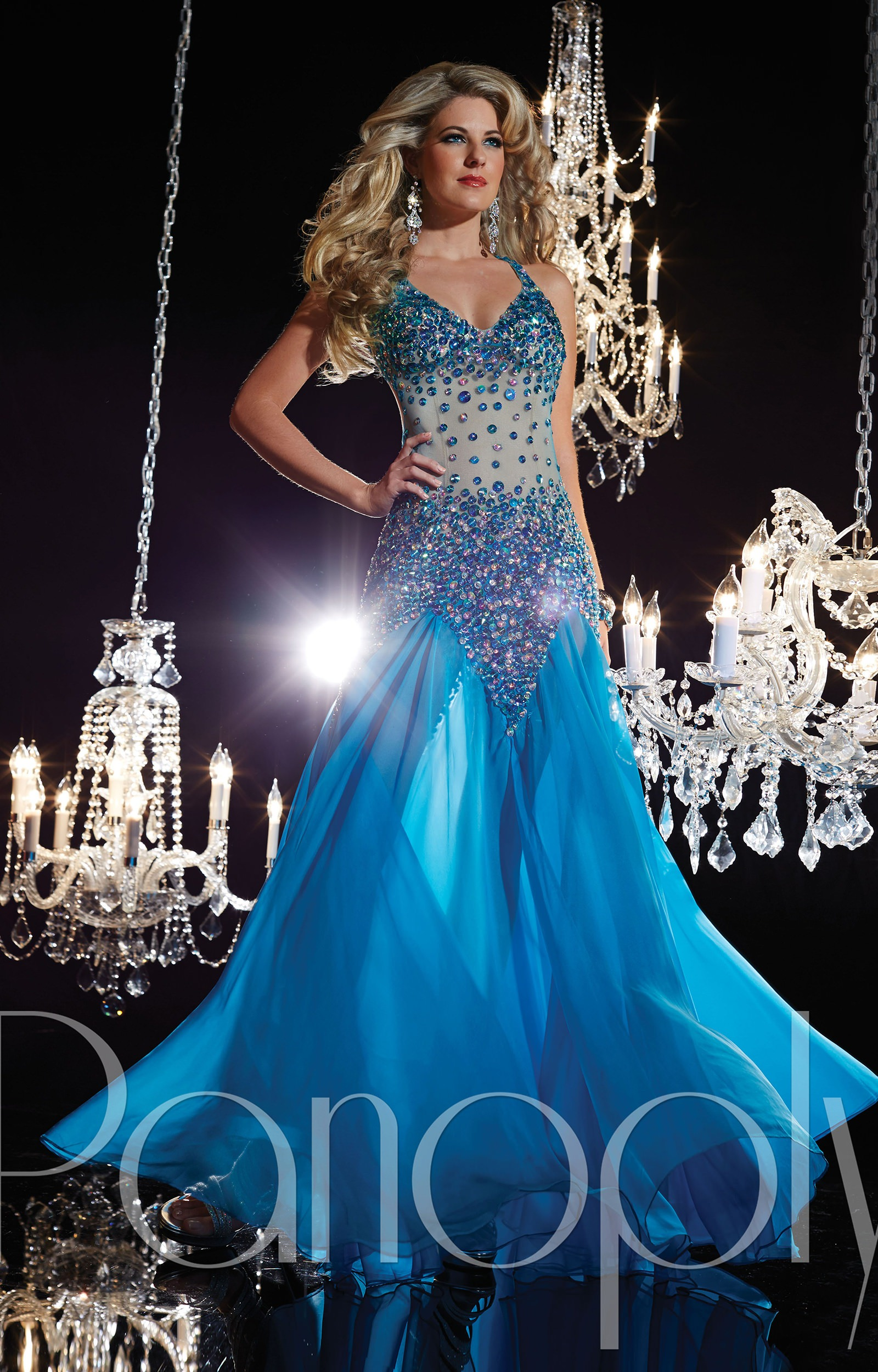 Panoply 14615 The Daring Diva Gown Prom Dress