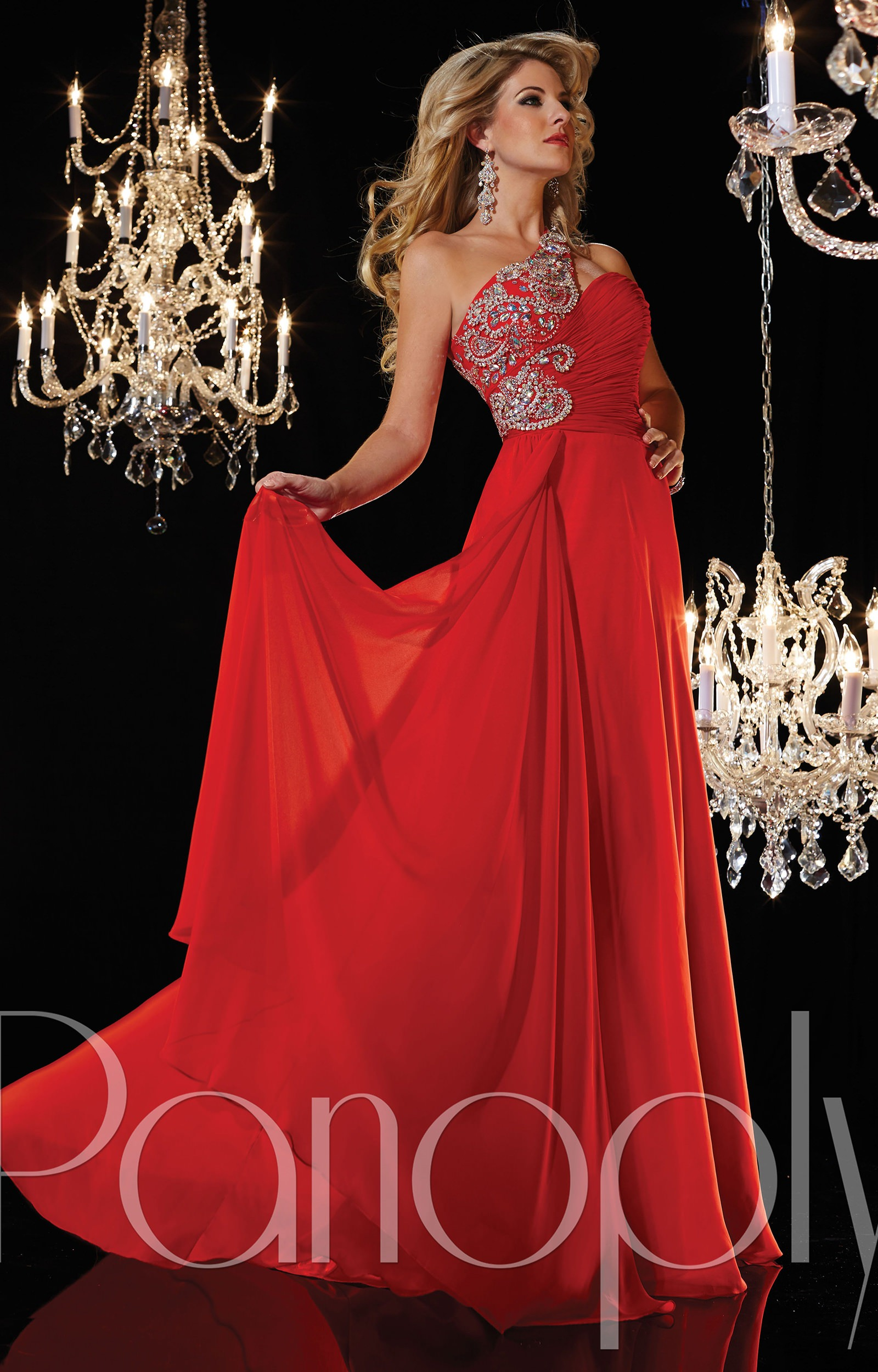 Panoply 14622 - This Girl is On Fire! Prom Dress