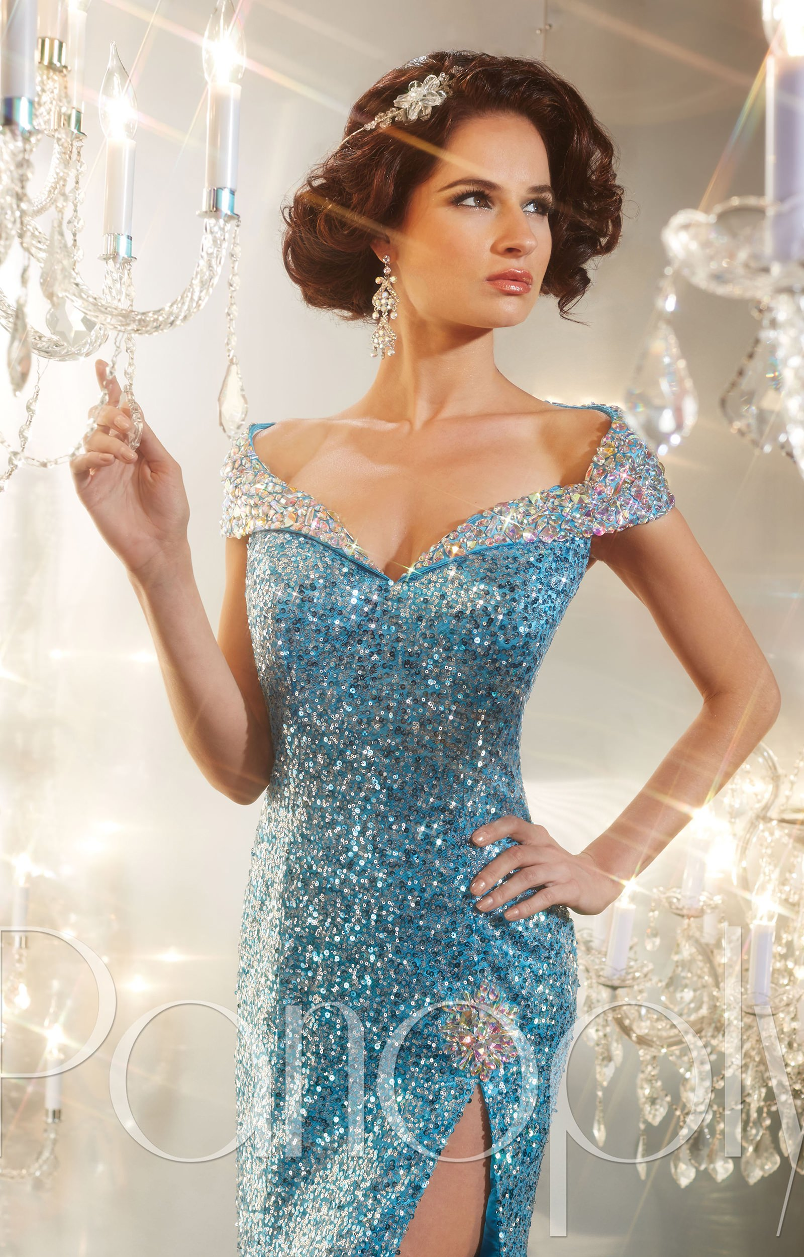 Panoply 44225 - The Hollywood Glam Gown Prom Dress