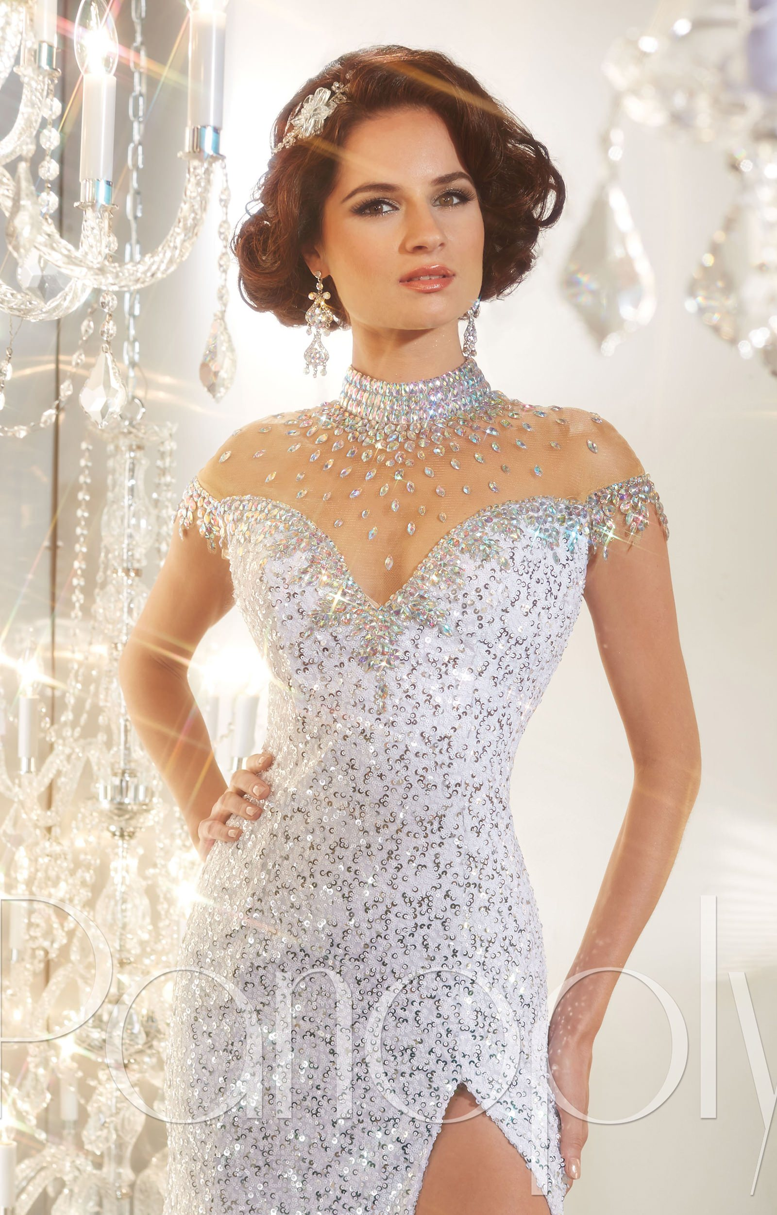 Panoply 44231 Sequin Dress With All The Things Prom Dress