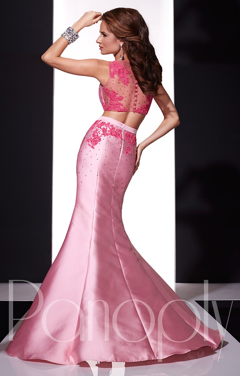 Panoply 14667 - Dramatic Lace Two Piece Prom Dress