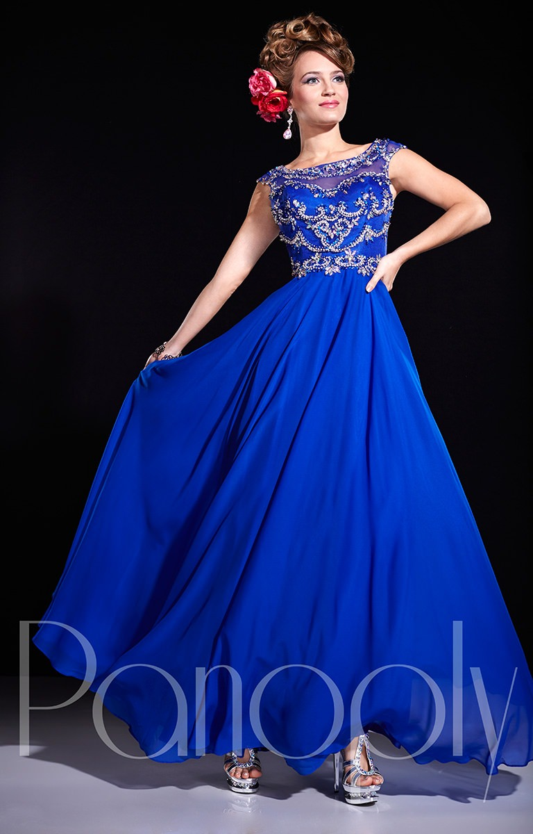 Panoply 14675 - Chic in Chiffon Prom Dress