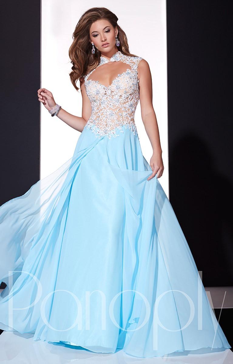 Orange Chiffon Its Fashion Metro Blouses Dark Brown: Bright And Bold Prom Dress