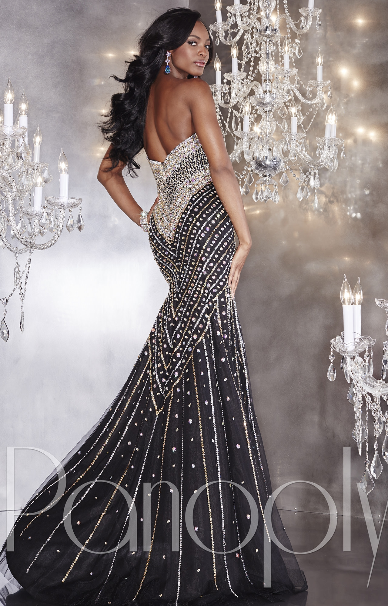 Panoply 14740 Sensational Sequins Gown Prom Dress