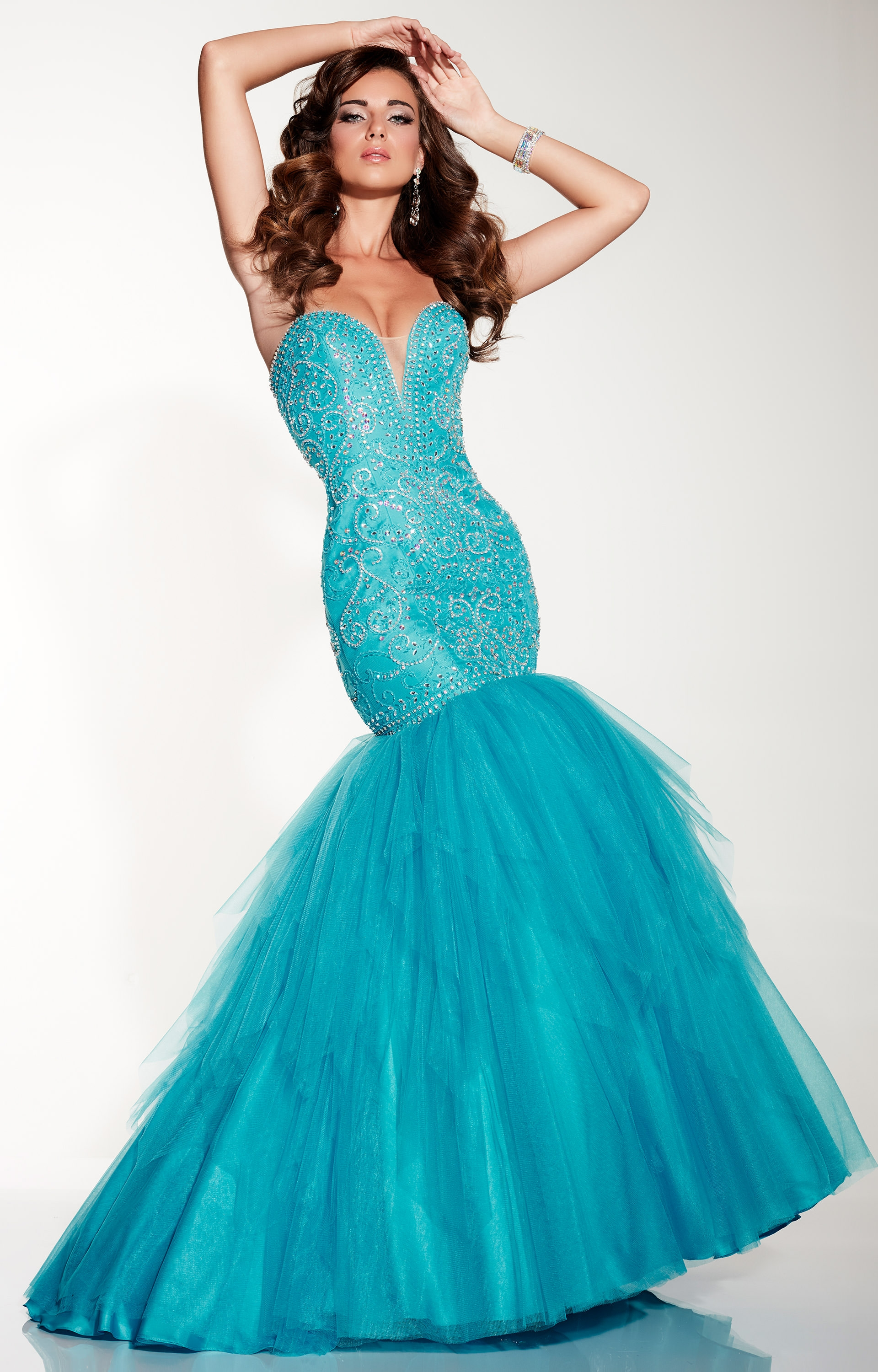 Panoply 14814 Traditional Mermaid Dress With Strapless