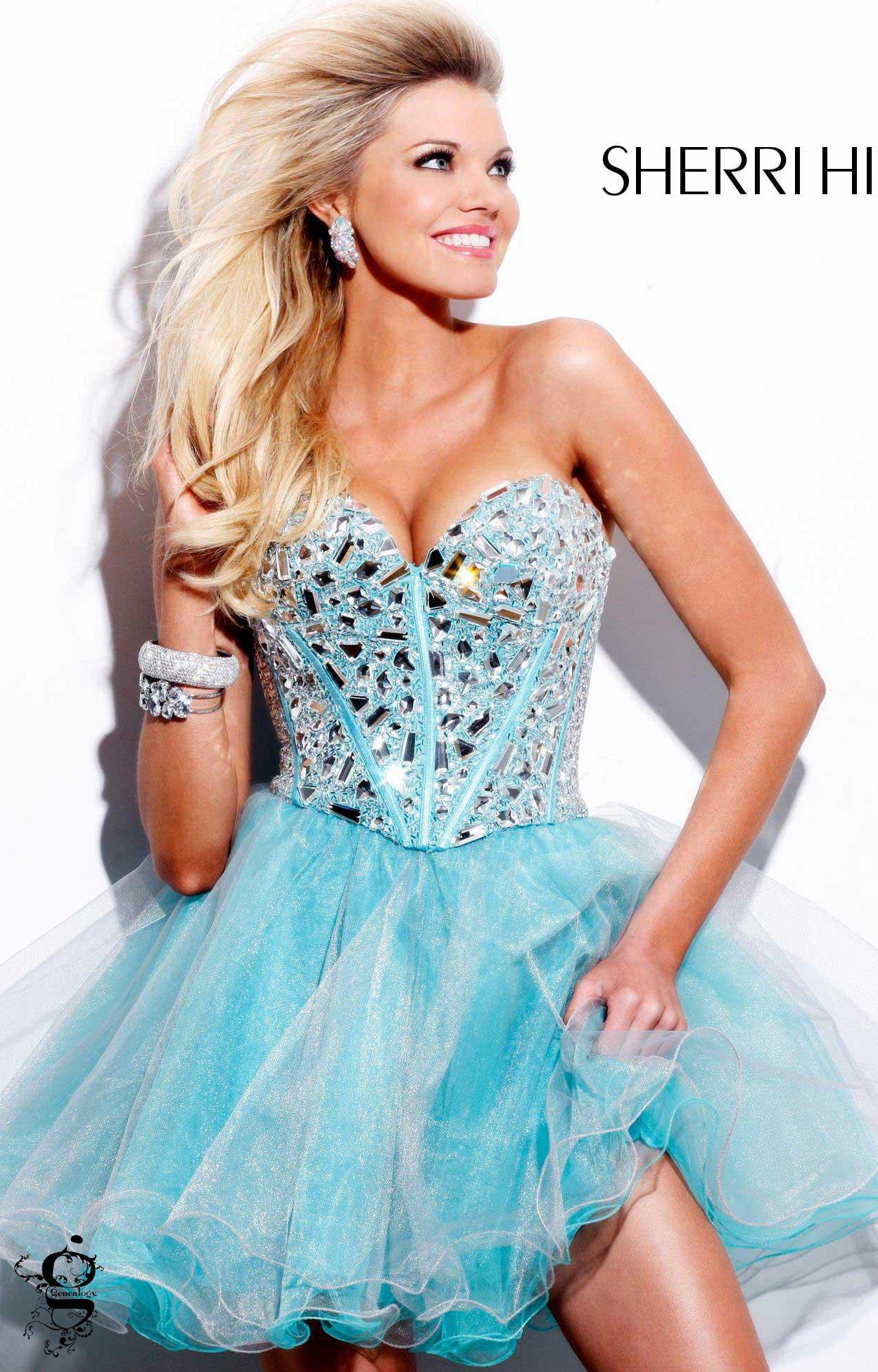 Sherri Hill 1403 - The Ballerina Prom Dress