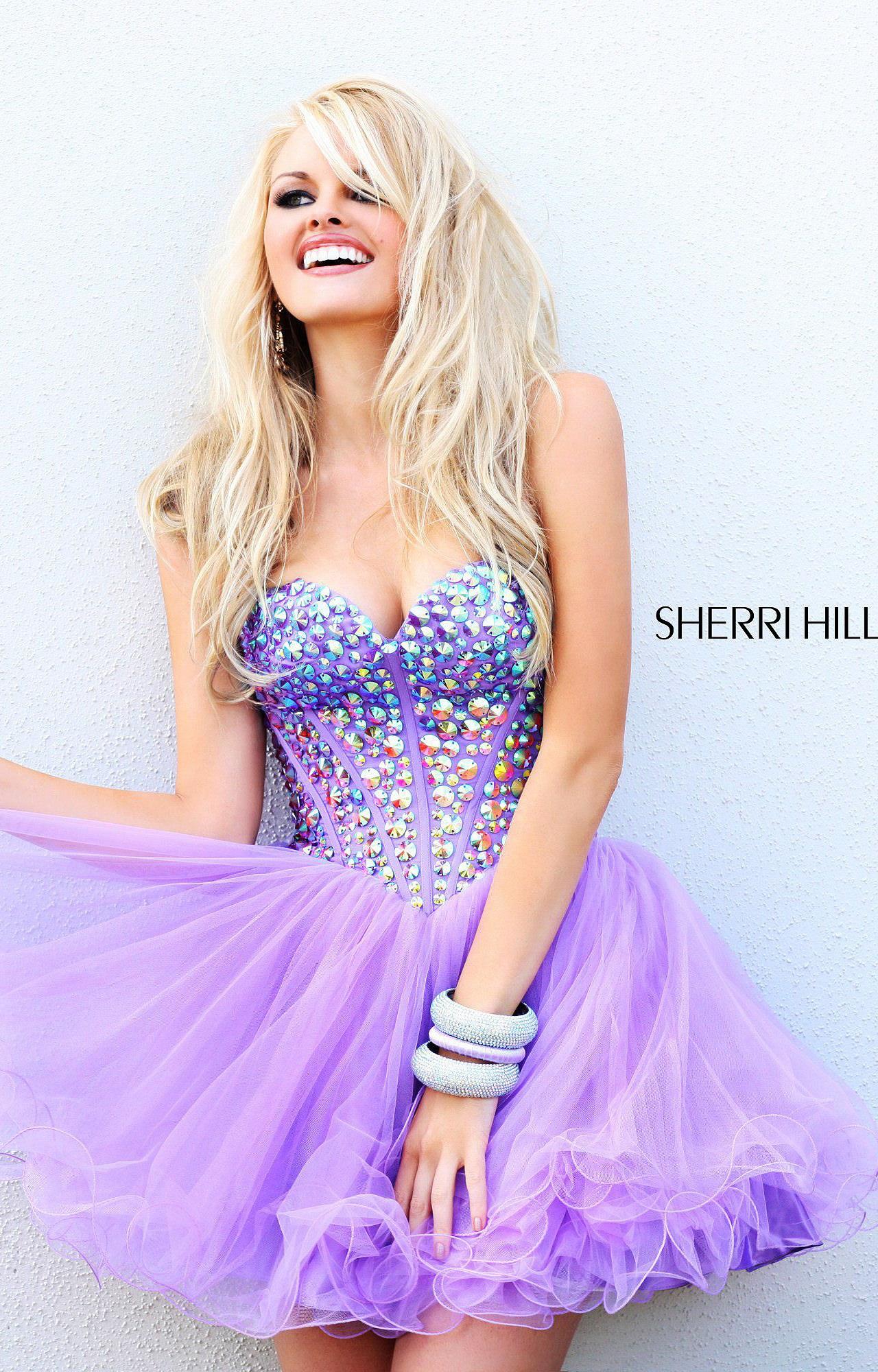 Sherri Hill 21101 The Party Princess Prom Dress
