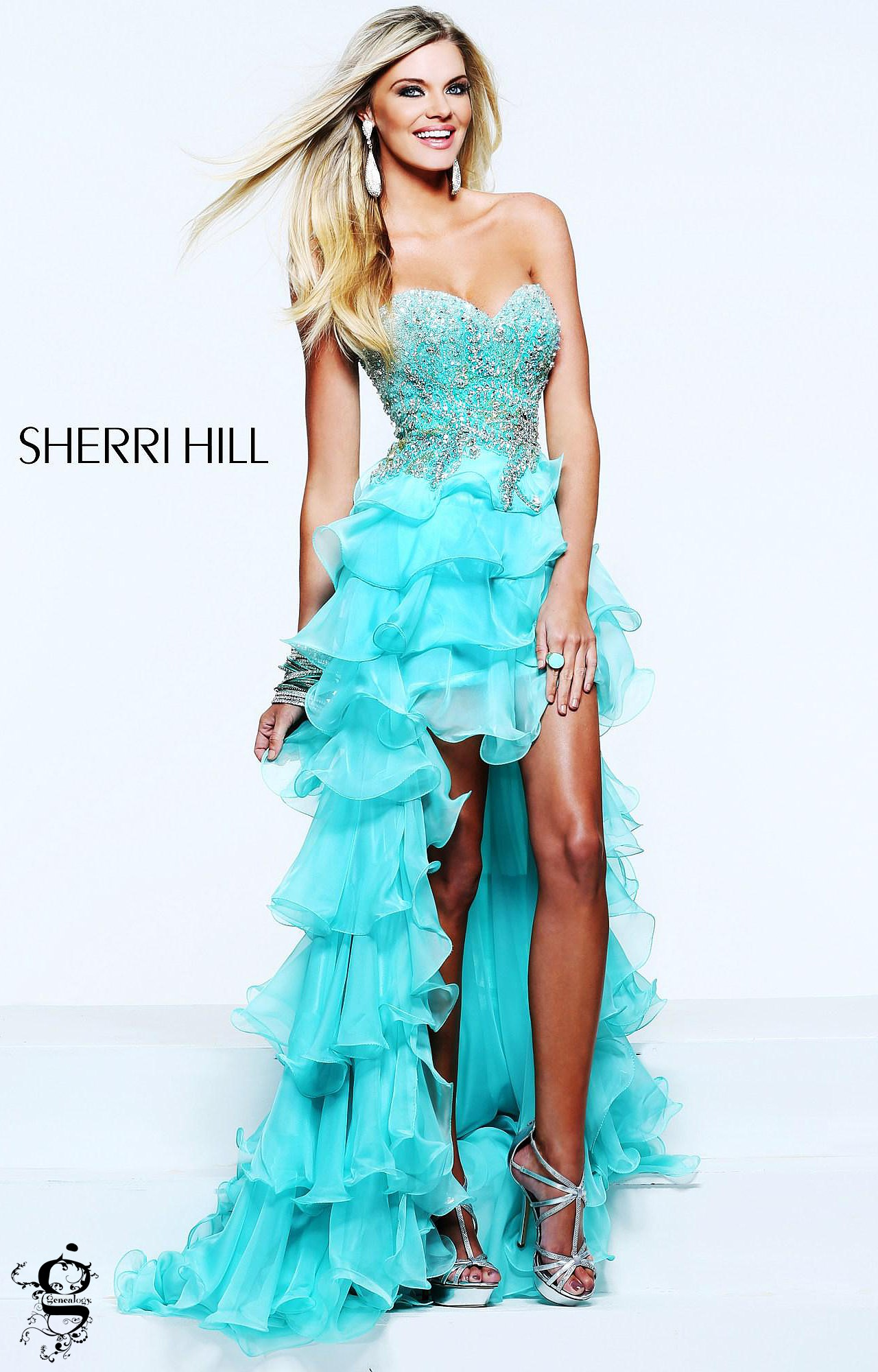 Sherri Hill 3875 - The Twist and Shout Gown Prom Dress