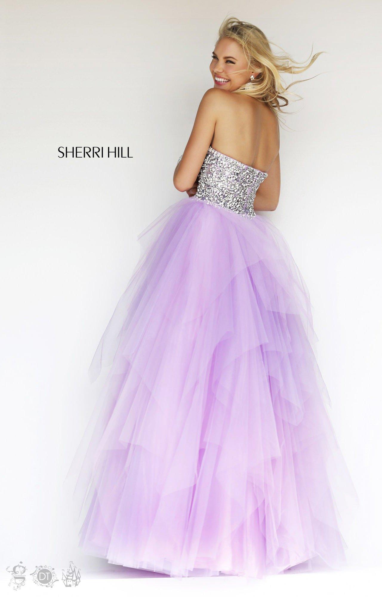Yellow Mermaid Prom Dresses 2014 Sherri Hill 11085 - St...