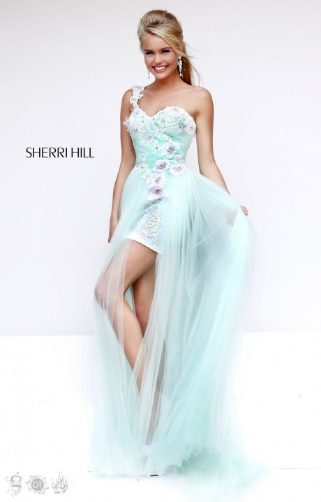 Sherri Hill 4315 Flowers On The Vine Prom Dress
