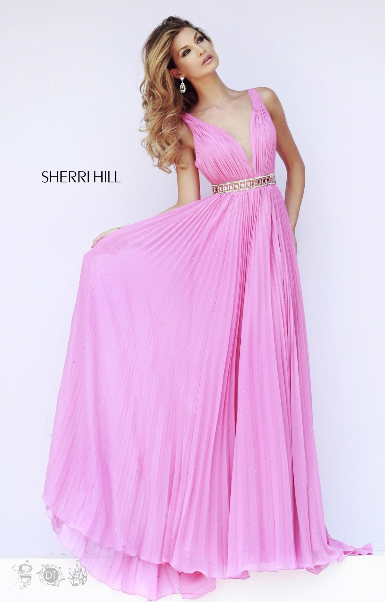 Sherri Hill 11222 - Greek Goddess Flowing Dress Prom Dress