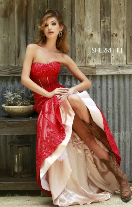 Sherri Hill 11243 Annie Get Your Gun Dress Prom Dress