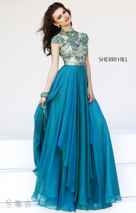Sherri Hill 1933 Cap Me Off Dress Prom Dress