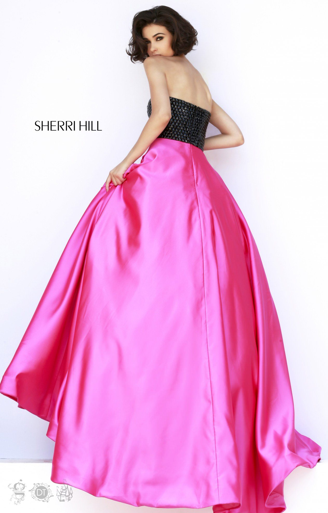 Sherri Hill 32175 Strapless and Sweetheart picture 1