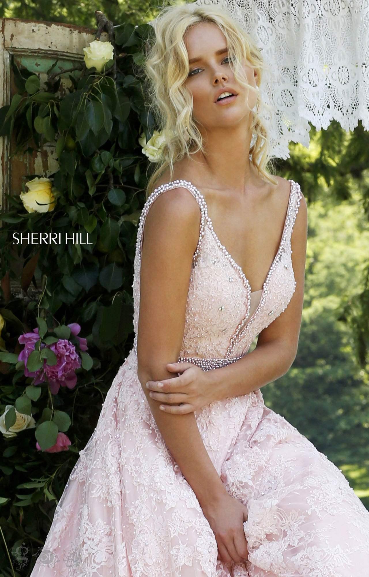 e95d8c077603 Sherri Hill 11314 - Luscious in Lace Ball Gown