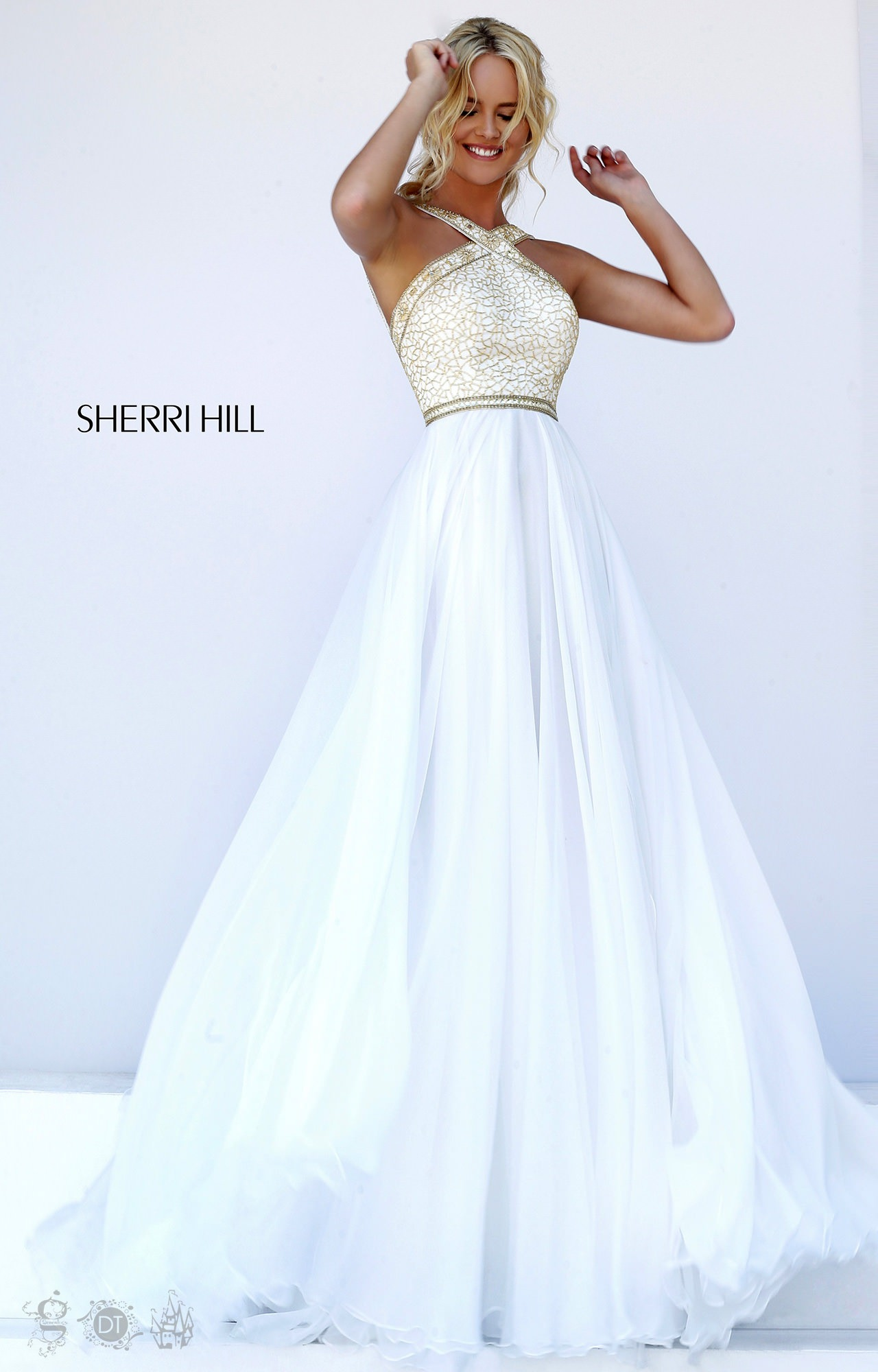 Sherri Hill 11319 The Carrie Diaries Gown Prom Dress