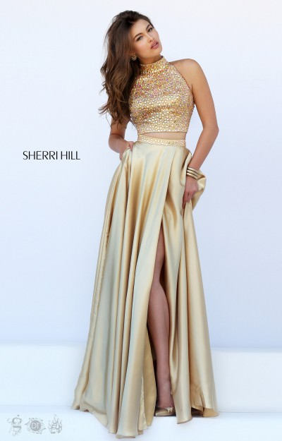 Yellow And Gold Prom Dresses 98