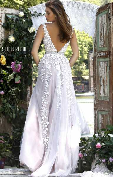 Sherri Hill 11335 Has Straps and Sweetheart picture 1