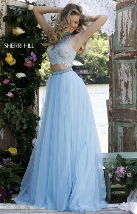 Sherri Hill 32347 Lovely In Lace Gown Prom Dress