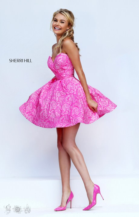 Sherri Hill 50131 Roses Are A Girl S Best Friend Dress