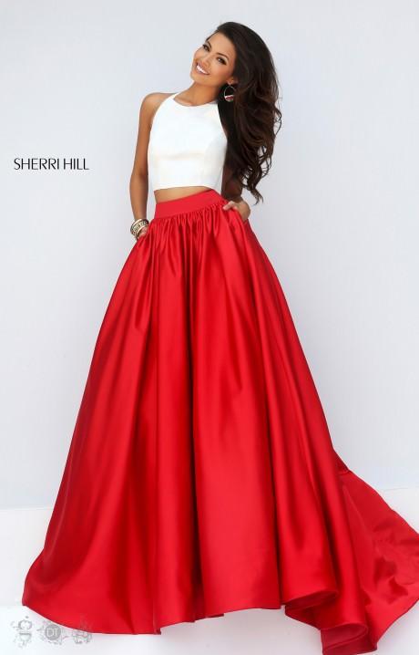 Sherri Hill 50134 The Pocket Full Of Posies Dress Prom Dress