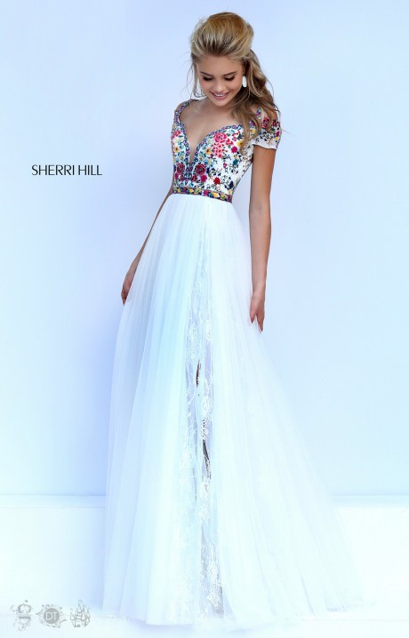 Sherri Hill 50151 The Boho Babe Gown Prom Dress